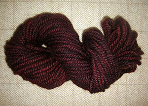 Hand-Dyed-Yarn-merlot-wool