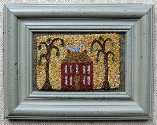 "Colonial House 9"" x 7"" $75"