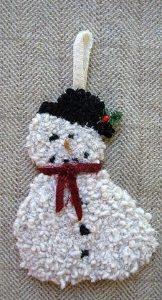 """Snowman Ornament (approximately 7"""") $18.50"""