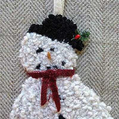"Snowman Ornament (approximately 7"") $18.50"