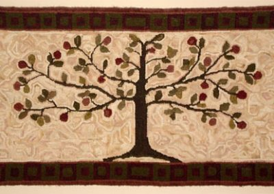 Tree of Life - Hooked by Joan Worthington