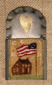 """Americana House 2"""" x 2½"""" Kit — $18 (2 drawn designs included)"""