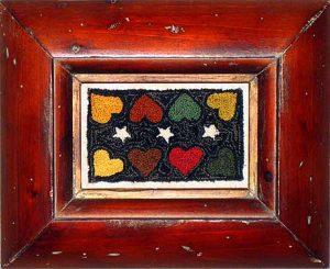"Antique Hearts 5¾"" x 3"" Kit — $18"
