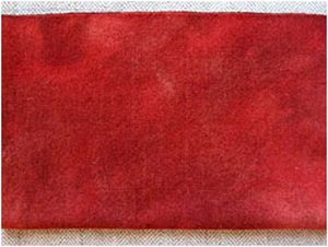 Brick House Red (over Natural) 1/4 Yard Bundle — $12.50