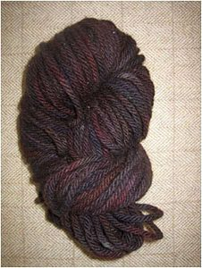 Cinnamon-Black Yarn — $18.00 per skein