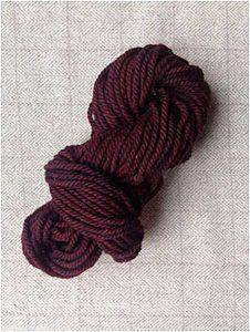 Dark Red Yarn — $18.00 per skein