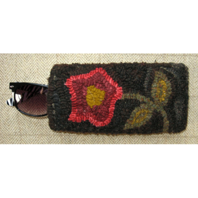 Flower eyeglass case