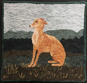 "Ginger 18"" x 19"" Pattern"