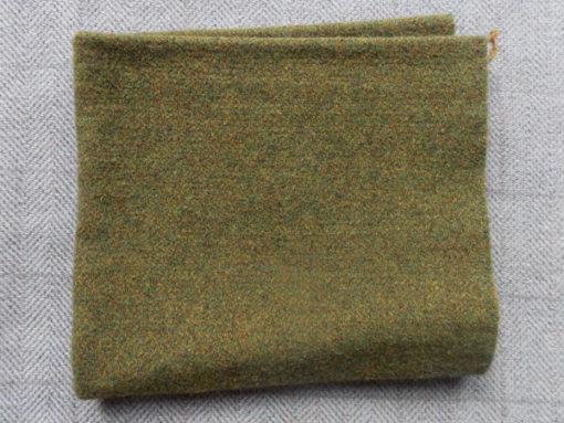 Green Heather Textured Wool