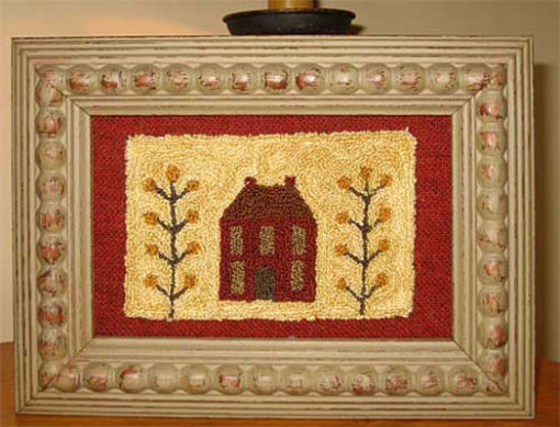 """Little House (Red) 4½"""" x 2¾"""" Kit"""
