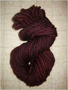 Merlot Yarn — $18.00 per skein