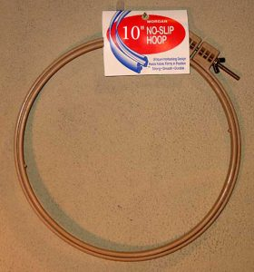 Morgan No-Slip Hoop 10""