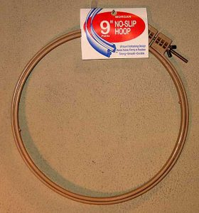 Morgan No-Slip Hoop 9""