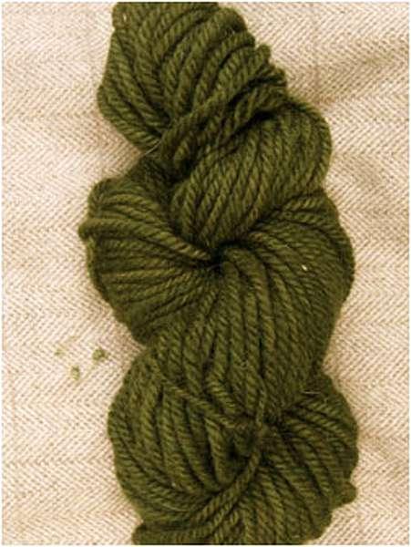 Primitive Green Yarn — $18.00 per skein