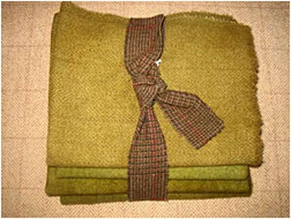 Primitive Green 1/2 Yard Bundle — $25.00