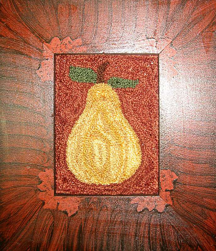 "Primitive Pear 3½"" x 2½"" Kit — $18"