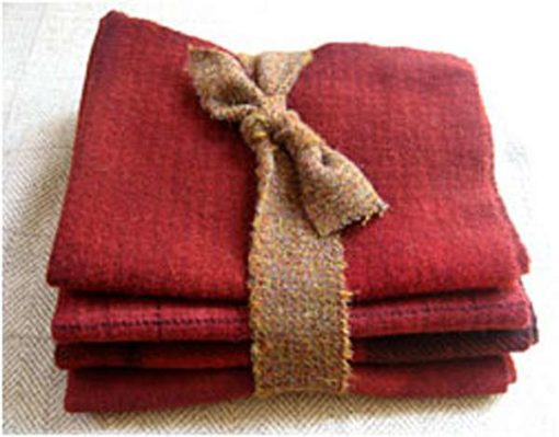Old Time Red 1/2 Yard Bundle — $25.00