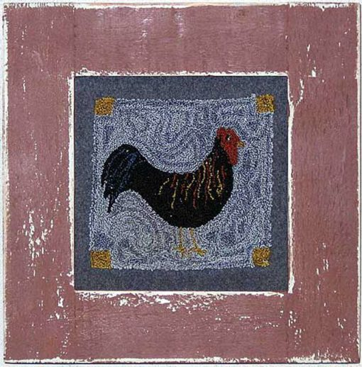 "Rooster 4"" x 4"" kit"