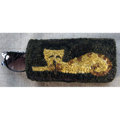 Sleeping Kitty eyeglass case