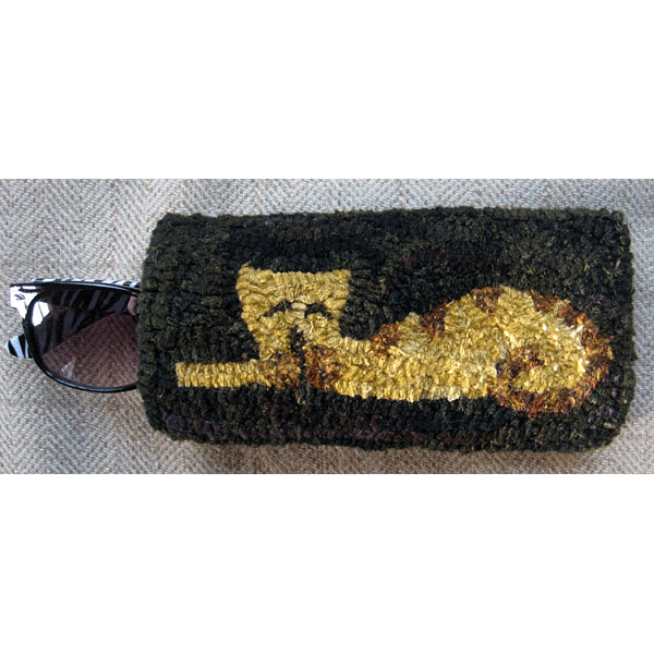 Sleeping Kitty eyeglass case