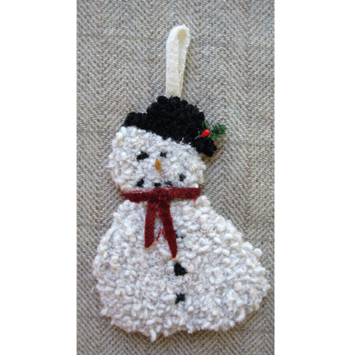 2-Piece Snowman Ornament (includes 3 drawn designs)