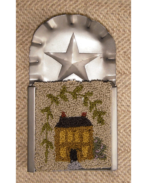 "Willow House 2"" x 2½"" Kit — $18 (2 drawn designs included)"