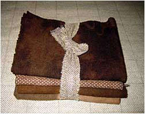 Great Old Brown 1/2 Yard Bundle — $25.00
