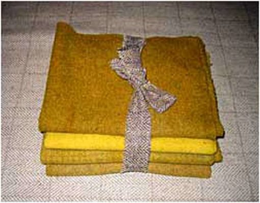 Favorite Mustard 1/2 Yard Bundle — $25.00